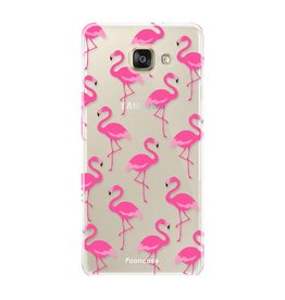 FOONCASE Samsung Galaxy A3 2017 - Flamingo