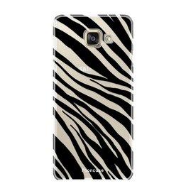 FOONCASE Samsung Galaxy A3 2017 - Zebra