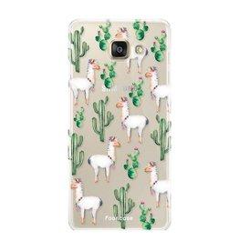 FOONCASE Samsung Galaxy A3 2017 - Lama