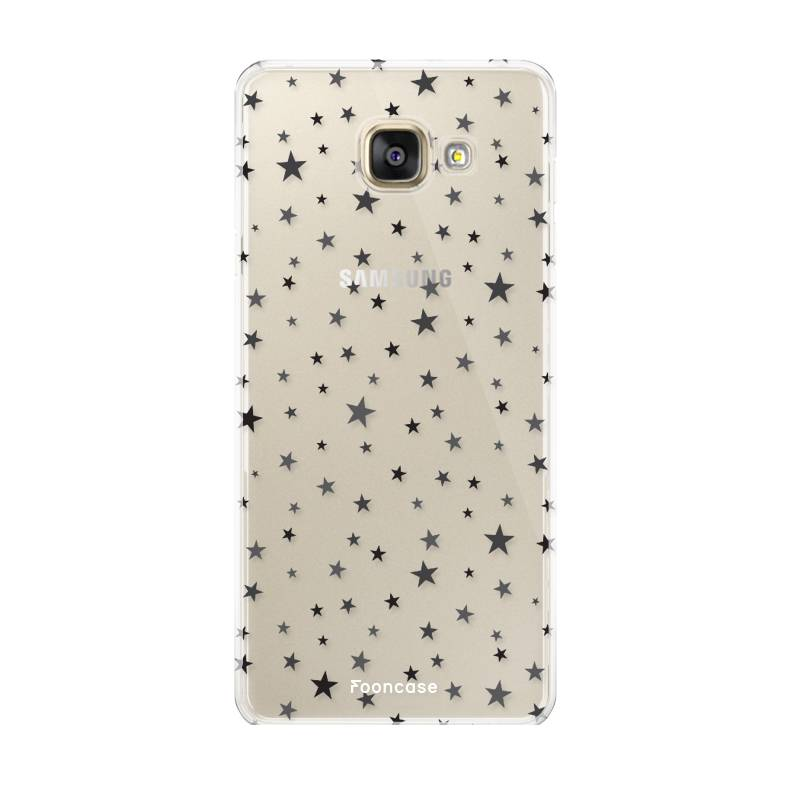 FOONCASE Samsung Galaxy A5 2016 hoesje TPU Soft Case - Back Cover - Stars / Sterretjes