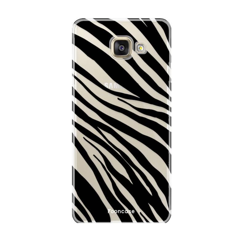 FOONCASE Samsung Galaxy A5 2016 Handyhülle - Zebra