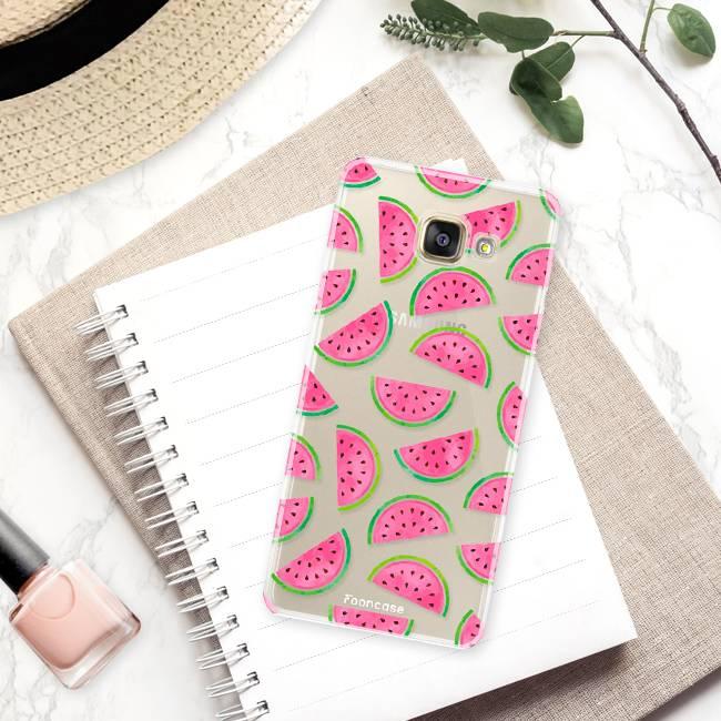 FOONCASE Samsung Galaxy A3 2016 Handyhülle - Wassermelone