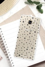 FOONCASE Samsung Galaxy A3 2017 hoesje TPU Soft Case - Back Cover - Stars / Sterretjes