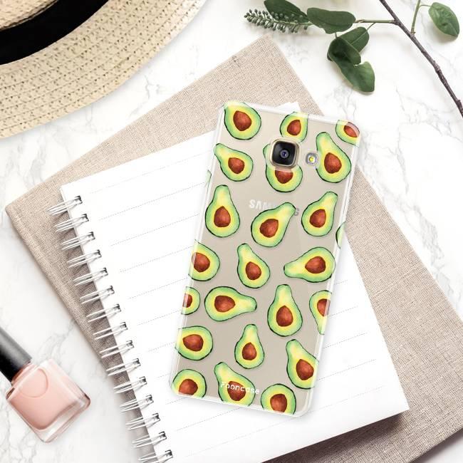 FOONCASE Samsung Galaxy A5 2016 hoesje TPU Soft Case - Back Cover - Avocado