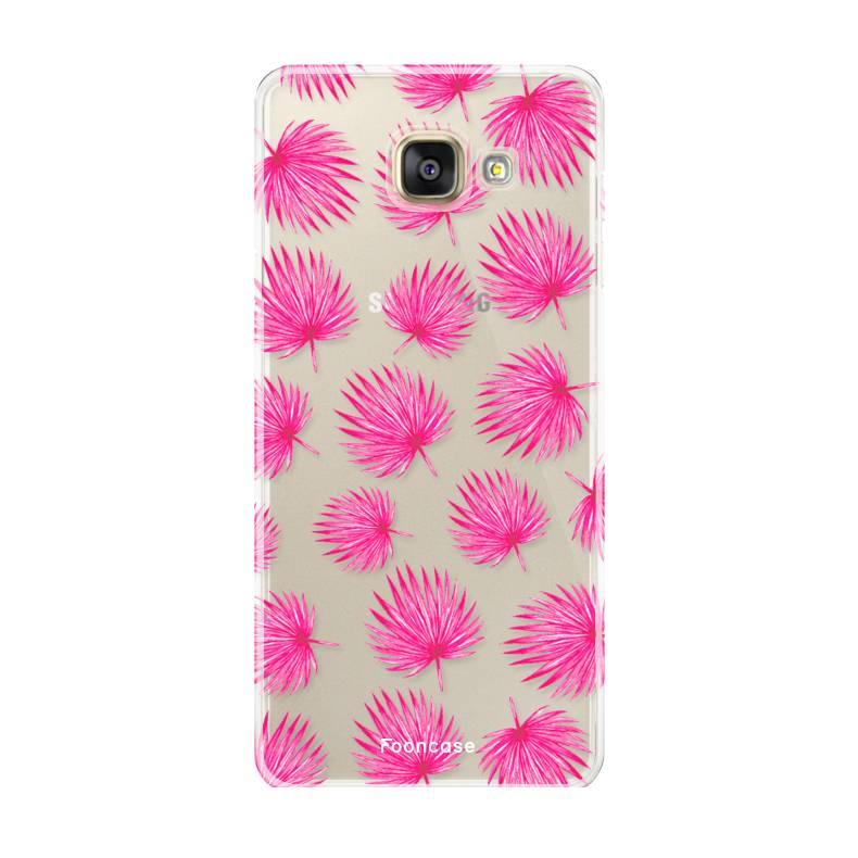 timeless design e9f87 ef89b FOONCASE | Pink leaves phone case | Samsung A5 2017