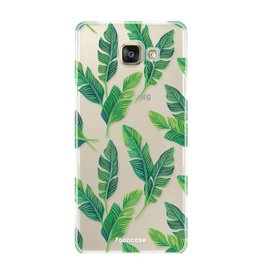 FOONCASE Samsung Galaxy A5 2017 - Banana leaves