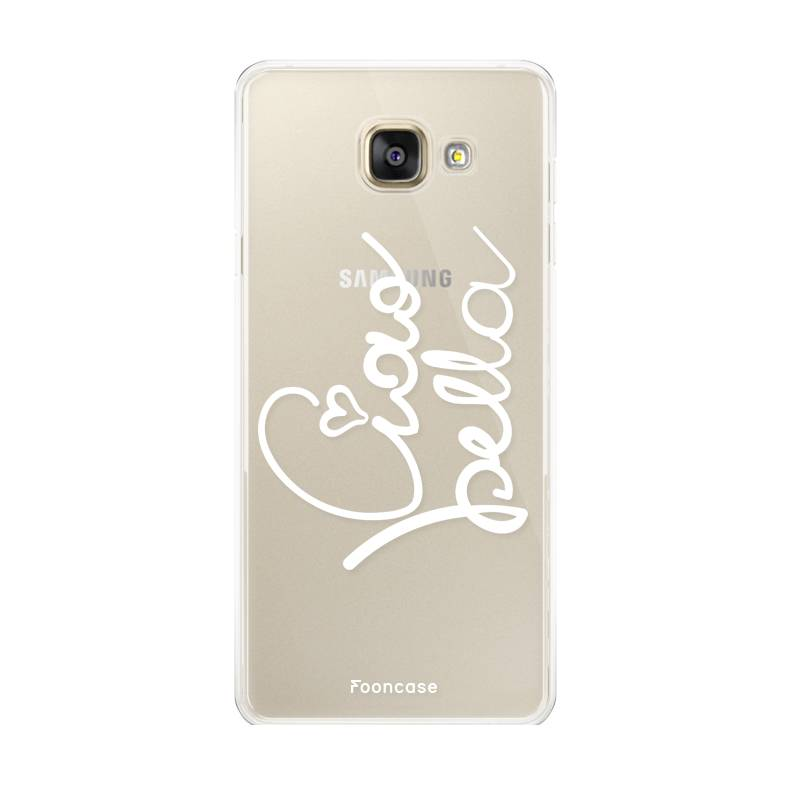 FOONCASE Samsung Galaxy A5 2017 hoesje TPU Soft Case - Back Cover - Ciao bella!