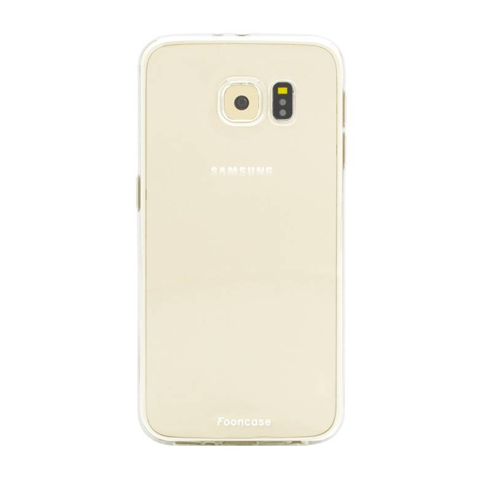 FOONCASE Samsung Galaxy S6 Edge Handyhülle - Transparant