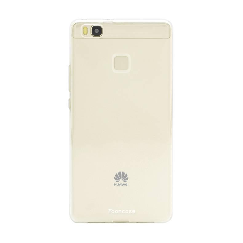 FOONCASE Huawei P9 Lite hoesje TPU Soft Case - Back Cover - Transparant / Doorzichtig