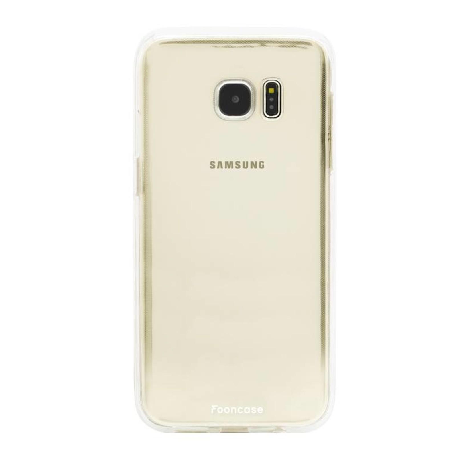 FOONCASE Samsung Galaxy S7 Edge Handyhülle - Transparant