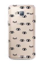 FOONCASE Samsung Galaxy J3 2016 - Eyes