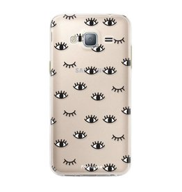 FOONCASE Samsung Galaxy J3 2016 - Eyes