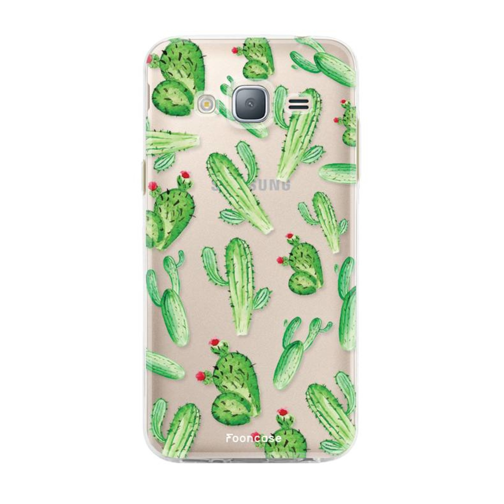FOONCASE Samsung Galaxy J3 2016 - Kaktus