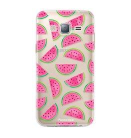 FOONCASE Samsung Galaxy J3 2016 - Wassermelone