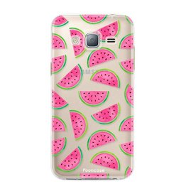 FOONCASE Samsung Galaxy J3 2016 - Watermeloen