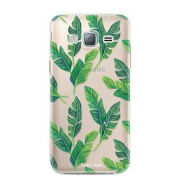 FOONCASE Samsung Galaxy J3 2016 - Banana leaves
