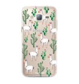 FOONCASE Samsung Galaxy J3 2016 - Lama
