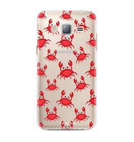 FOONCASE Samsung Galaxy J3 2016 - Crabs