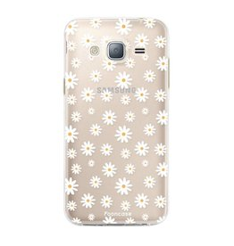 FOONCASE Samsung Galaxy J3 2016 - Madeliefjes
