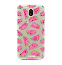 FOONCASE Samsung Galaxy J5 2017 - Watermeloen