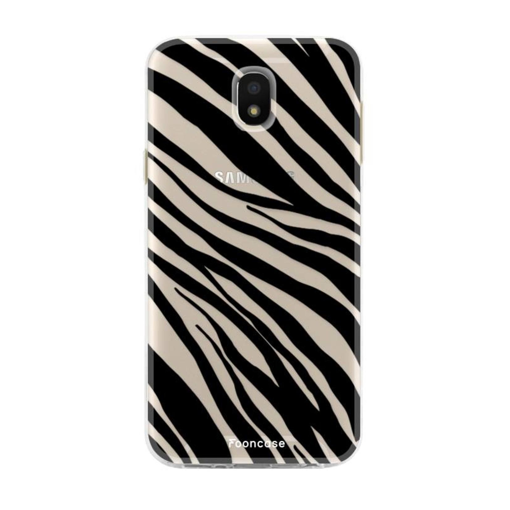 FOONCASE Samsung Galaxy J5 2017 - Zebra