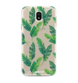 FOONCASE Samsung Galaxy J5 2017 - Banana leaves