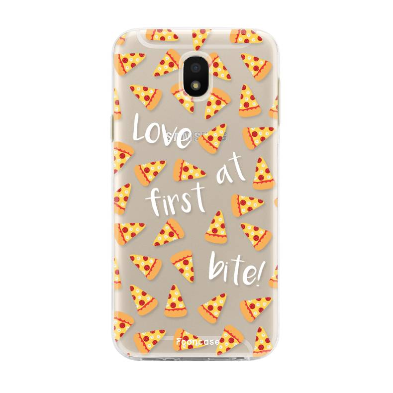 FOONCASE Samsung Galaxy J5 2017 hoesje TPU Soft Case - Back Cover - Pizza / Food