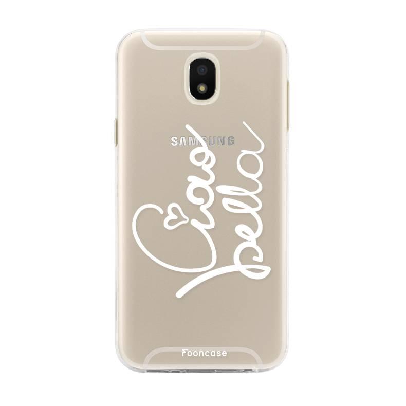 FOONCASE Samsung Galaxy J5 2017 hoesje TPU Soft Case - Back Cover - Ciao Bella!