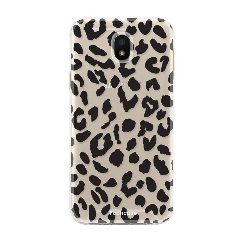 FOONCASE Samsung Galaxy J5 2017 hoesje TPU Soft Case - Back Cover - Luipaard / Leopard print
