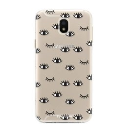 FOONCASE Samsung Galaxy J5 2017 - Eyes
