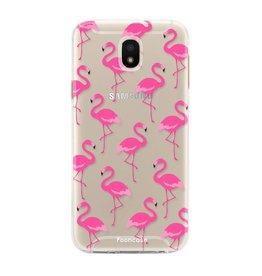 FOONCASE Samsung Galaxy J5 2017 - Flamingo