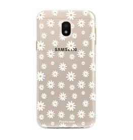 FOONCASE Samsung Galaxy J3 2017 - Gänseblümchen
