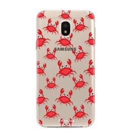 FOONCASE Samsung Galaxy J3 2017 - Crabs