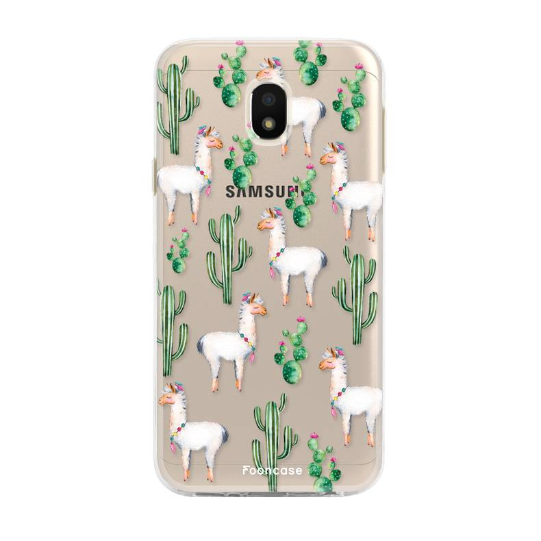 FOONCASE Samsung Galaxy J3 2017 - Lama