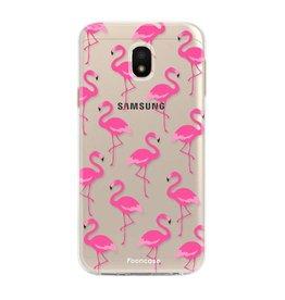 FOONCASE Samsung Galaxy J3 2017 - Flamingo