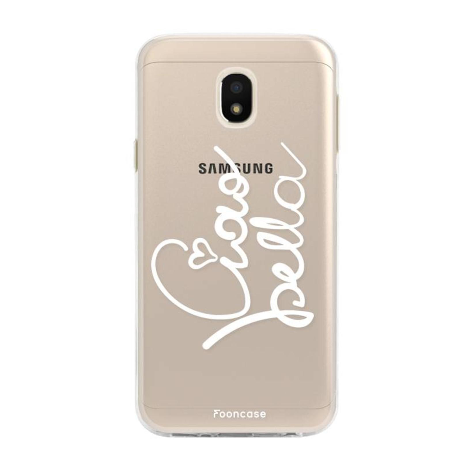 FOONCASE Samsung Galaxy J3 2017 - Ciao Bella!