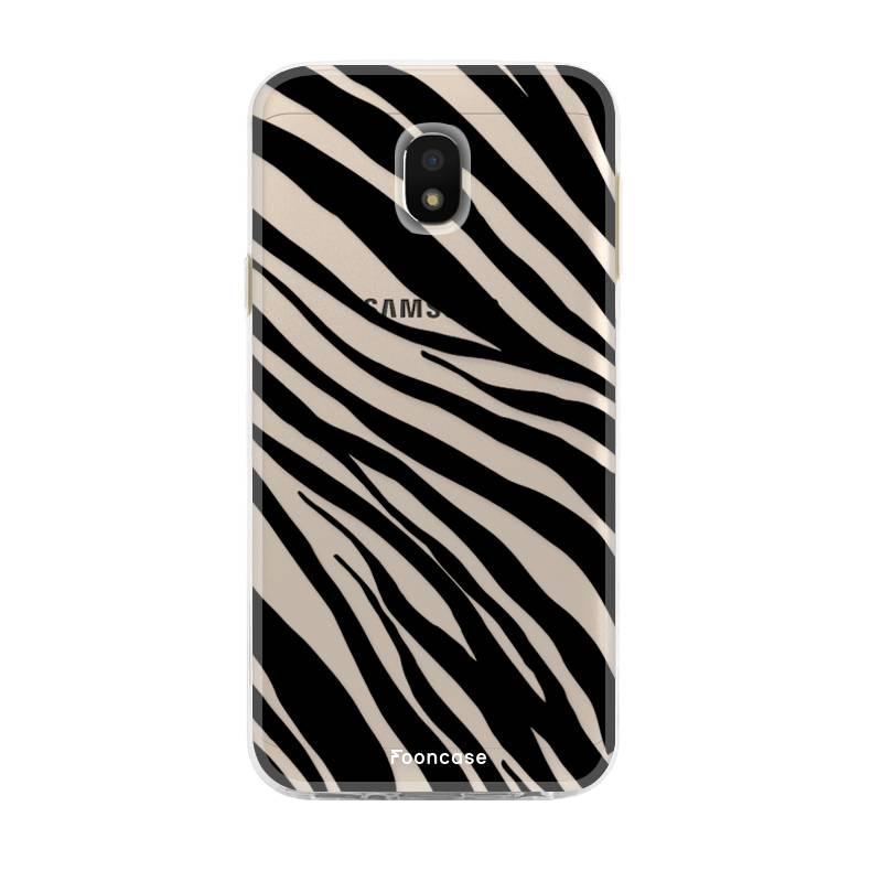 FOONCASE Samsung Galaxy J3 2017 - Zebra