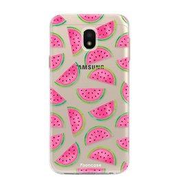 FOONCASE Samsung Galaxy J3 2017 - Watermeloen