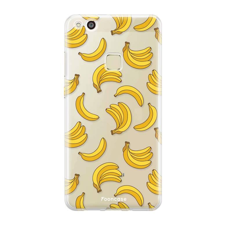 FOONCASE Huawei P10 Lite hoesje TPU Soft Case - Back Cover - Bananas / Banaan / Bananen