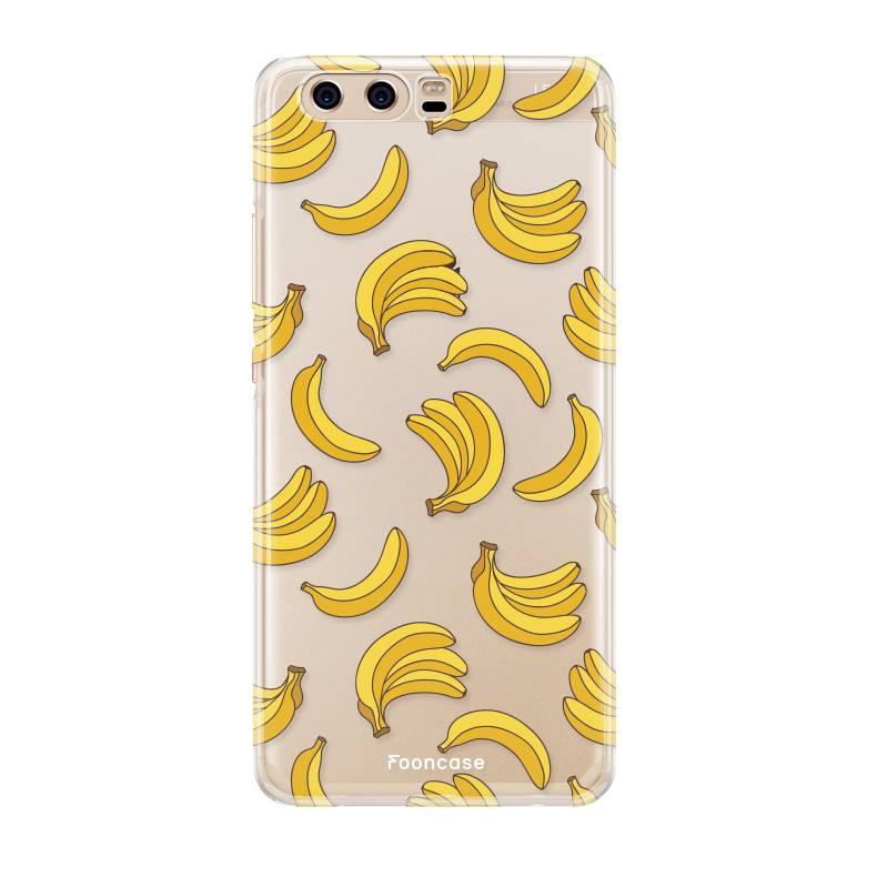 FOONCASE Huawei P10 hoesje TPU Soft Case - Back Cover - Bananas / Banaan / Bananen