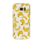 FOONCASE Samsung Galaxy S7 Edge - Bananas