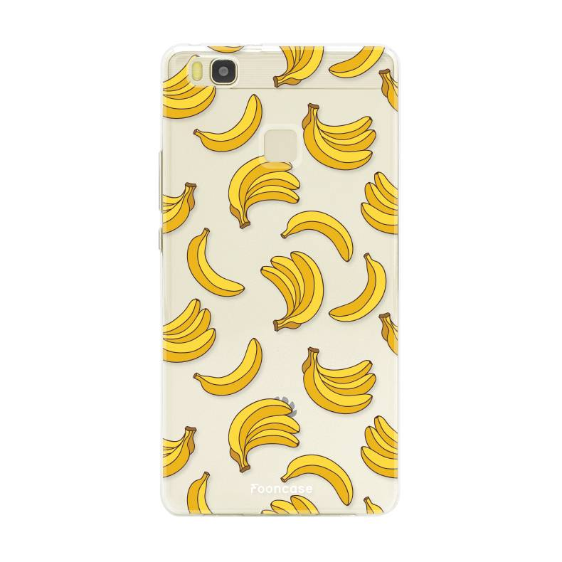 FOONCASE Huawei P9 Lite hoesje TPU Soft Case - Back Cover - Bananas / Banaan / Bananen