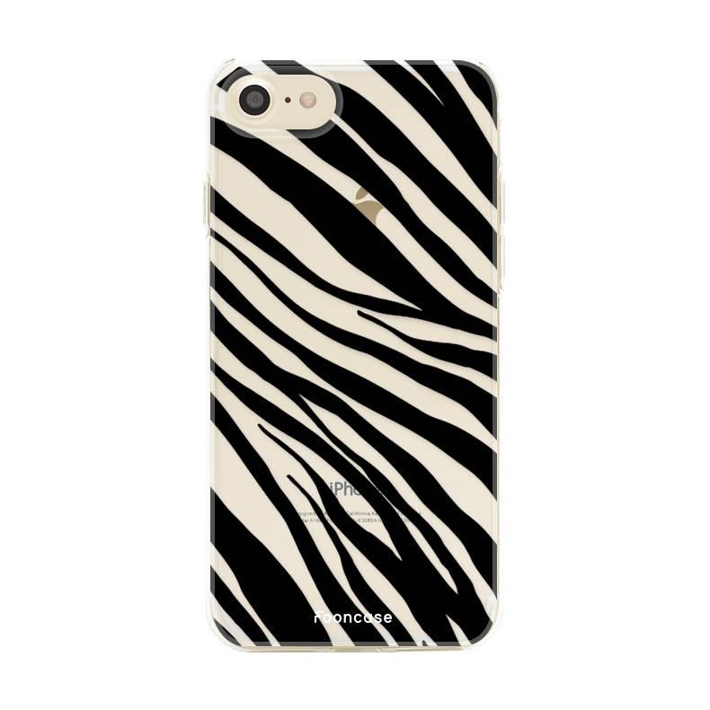 FOONCASE Iphone 8 Handyhülle - Zebra