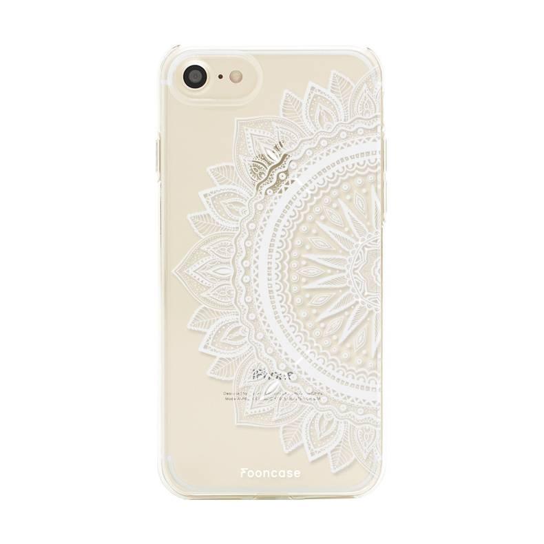 FOONCASE iPhone 8 hoesje TPU Soft Case - Back Cover - Mandala / Ibiza