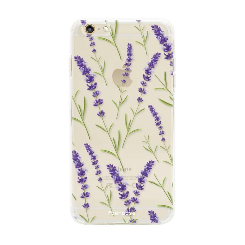Apple Iphone 6 Plus - Purple Flower