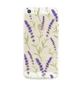 Apple Iphone 5 / 5S - Purple Flower