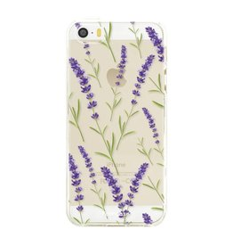 FOONCASE Iphone 5 / 5S - Purple Flower