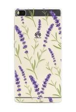 Huawei Huawei P8 - Purple Flower