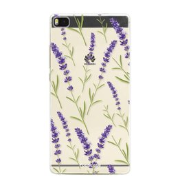 FOONCASE Huawei P8 - Purple Flower