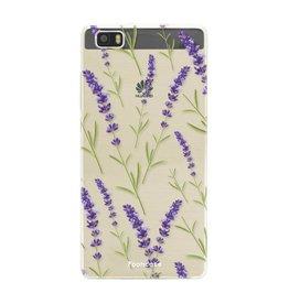 FOONCASE Huawei P8 Lite 2016 - Purple Flower